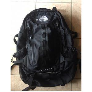 North face backpack. Big shot